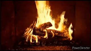 600 Seconds - Relaxing Fireplace Sounds - Virtual Fireplace - longest SD 360p