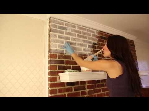 How to WHITEWASH BRICK<a href='/yt-w/XkVBm3bitEE/how-to-whitewash-brick.html' target='_blank' title='Play' onclick='reloadPage();'>   <span class='button' style='color: #fff'> Watch Video</a></span>