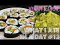 WHAT I EAT IN A DAY #13 (VEGAN + CHEAP) ♥ Cheap Lazy Vegan