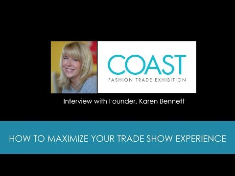 How To Promote Your Fashion Collection at a Trade Show with Coast Shows Founder Karen Bennett