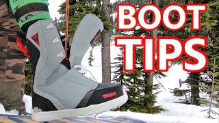 How To Put On Snowboard Boots - Beginner Tips