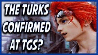 FF7 Remake News: Nomura Confirms Turks For Tokyo Game Show?