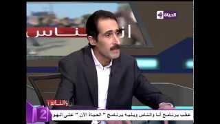 مجدي الجلاد عن توفيق عكاشة: «نكتة طويلة وبايخة» (فيديو)