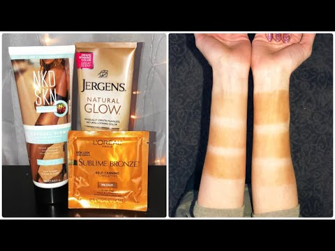 jergens natural glow application tips