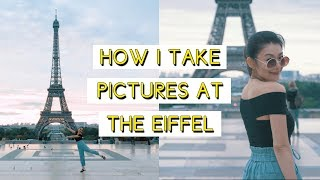 how i take pictures at the Eiffel Tower (Paris)