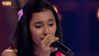 Super Singer Junior - Kanna Kaattu Podhum by Aswathi