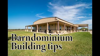 Watch this video before you build a Barndominium  E207