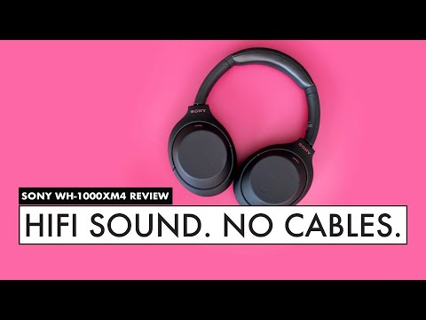 The BEST Noise Canceling WIRELESS HEADPHONES? - SONY WH-1000XM4 Review
