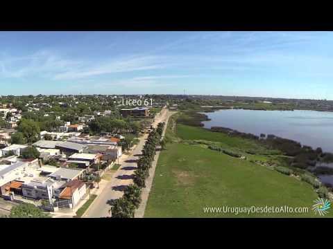 Video aéreo del Cerro de Montevideo, Uruguay Desde Lo Alto