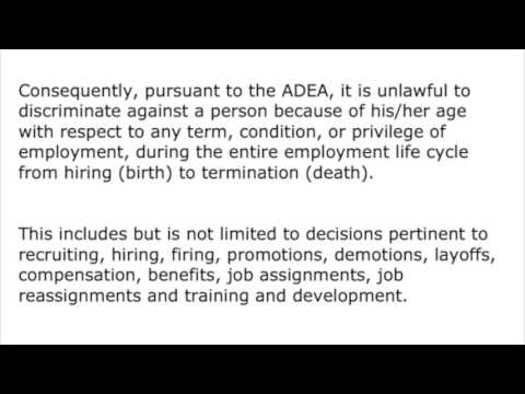 ADEA age discrimination employment act