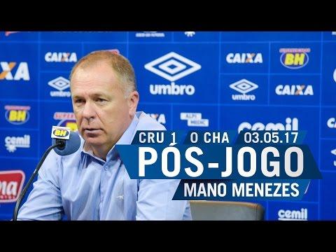 03/05/2017 - Pós-Jogo - Téc. Mano Menezes