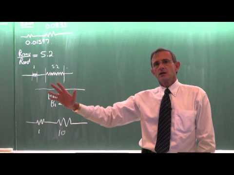 Lecture 04 (2014). Transient heat transfer. Lumped system approach