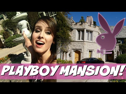 PLAYBOY MANSION TOUR!!