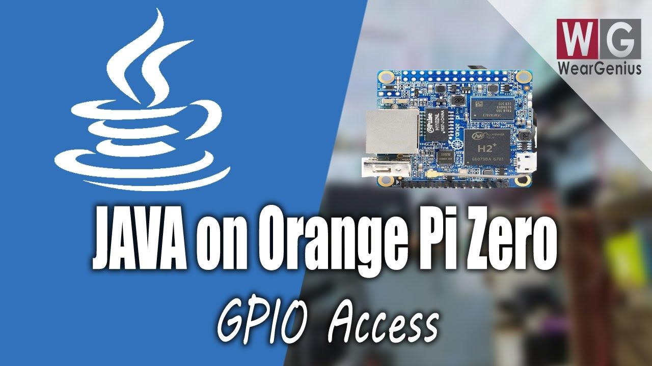 Gpio Programming Using Java Pi4j Orange Pi 3 Youtube Wiringpi For