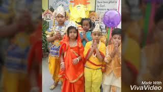 My school (City International School) Happy Dussehra.