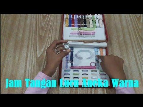 Jam Tangan Lucu Aneka Warna - Beautiful Watches 2016