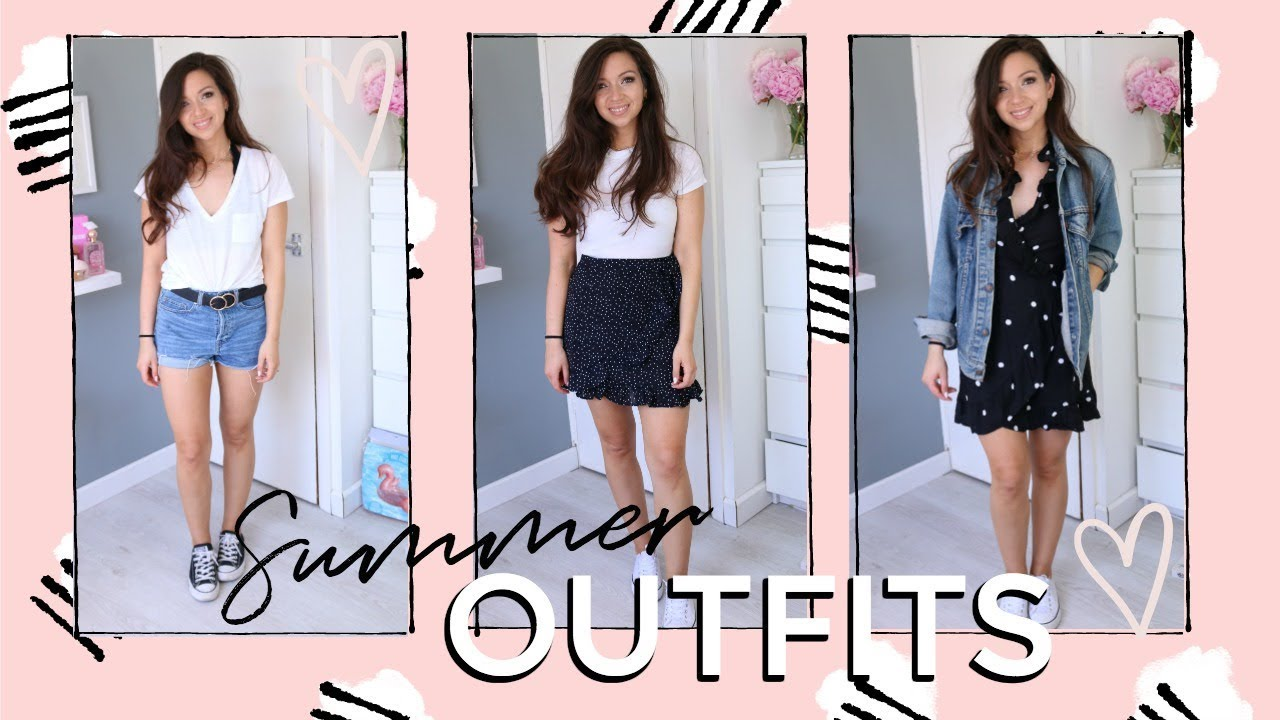 MY GO TO SUMMER OUTFITS I Dizzybrunette3 3