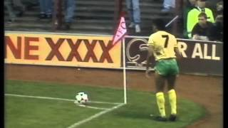 Nov 89   Arsenal V Norwich City. 7 Goals And A Brawl.