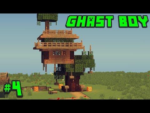 Minecraft Xây Dựng #4 – Xây Nhà Trên Cây Theo Cách Ghast Boy !!??