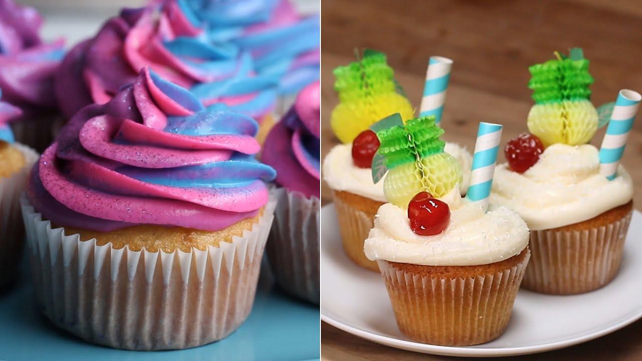 Cupcake Recipes To Impress Your Crafty Friends Tasty
