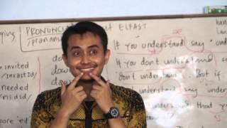 Belajar Bahasa Inggris menyenangkan di Kampung Inggris Pare - Elfast Pare, Kediri, East Java