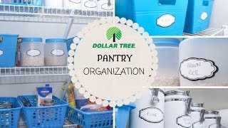 Dollar Tree Pantry Organization   Budget Organizing