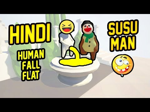 [Hindi FUNNY] Human: Fall Flat #1 | Funniest Game Ever - HITESH KS