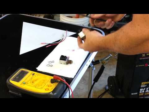 How to test shift solenoid 4L60E