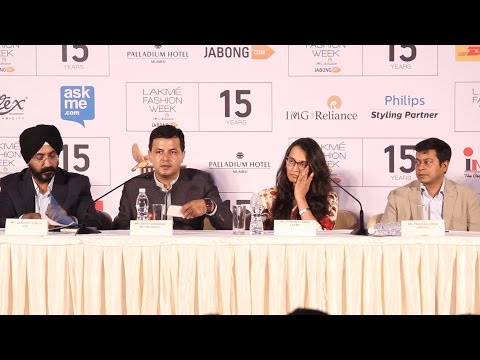 Lakmé Fashion Week 2015 | Full Press Conference