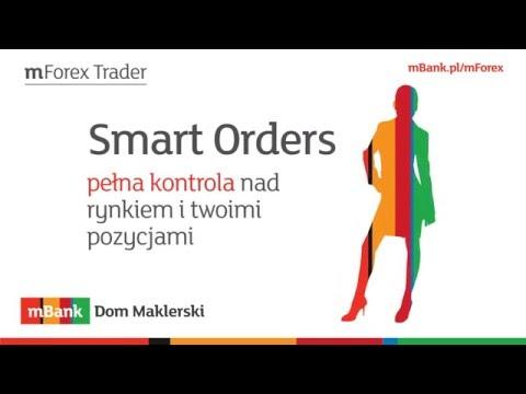 MT4 można ulepszyć - Smart Orders mForex mBanku