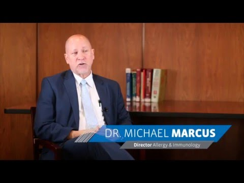 Dr. Michael Marcus, Director of Allergy & Immunology at Maimonides Medical Center