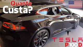 Tesla Modelo S P100D - Quanto Custa nos EUA