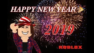 HAPPY NEW YEAR! 2019 (ROBLOX)