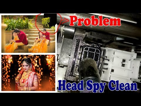 Epson All Model head Spy Cleaning and West Inkpad Counter Problem Information In Hindi