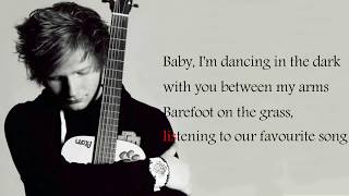 Ed Sheeran - Perfect (Lyrics) Video