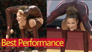 Contortionist Sofie Dossi's Unbelievable Performance