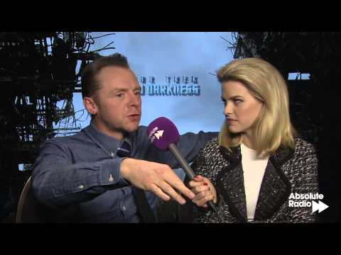 Simon Pegg and Alice Eve full-length Star Trek Into Darkness interview