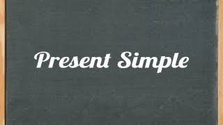 Present Simple Tense - English grammar tutorial video lesson