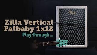 Zilla Cabs - Vertical Fatbaby 1x12, H creamback