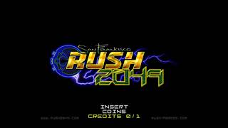 15 Minutes of Video Game Music - Night from San Francisco Rush 2049