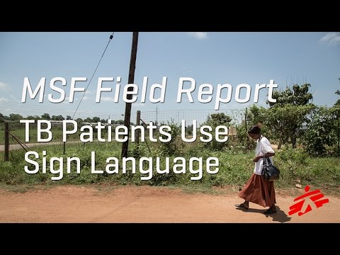TB Patient Uses Sign Language in Swaziland