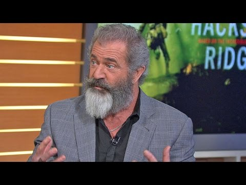 Hacksaw Ridge  Mel Gibson  on GMA