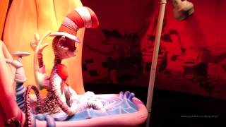 The Cat In The Hat FULL RIDE Islands of Adventure Universal Orlando Resort Florida HD
