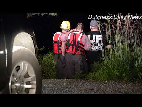 Four people were rescued late Saturday night on the Hudson River in near the Norrie Point Marina in the hamlet of Staatsburgh in Hyde Park.