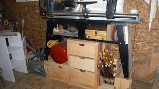 Building A Lathe Stand