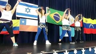 Team Israel- International Zumba Holiday MC