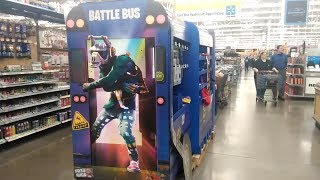 GOING TO WALMART TO GET FREE FORTNITE SPRAY!