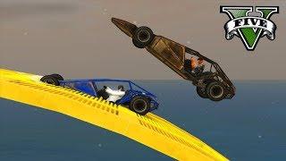 GTA V Online: O CARRO MAIS BUGADO!!! (Buggy Ramp) CORRIDA