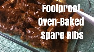 Foolproof Oven-Baked BBQ Spare Ribs