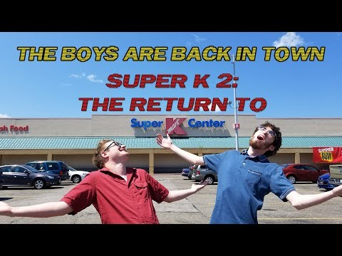 A Second Trip To The Last Standing Super Kmart In The World